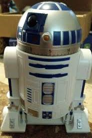 wars kitchen timer r2 d2 countdown timer with rotating