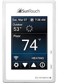 suntouch sunstat pro ii programmable floor heat thermostat
