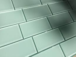 seafoam 3x6 glass subway tile vicci design