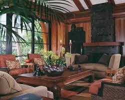 Living Room Craftsman House Interior Rustic