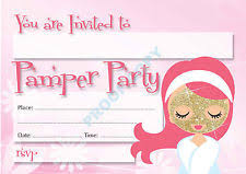 Pamper Party Invitations And It Is That Invitation Template For Graceful 11