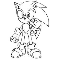 Luxury Idea Sonic The Hedgehog Coloring Pages To Print 21