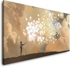 paul sinus malerei 120x 60cm panorama leinwand bild format wandbilder wohnzimmer wohnung deko kunstdrucke