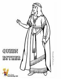 Collect These Sunday School Printables Of Samson Moses Abraham Peter Paul David Joshua Esther This A Queen Coloring Page