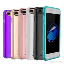 2018 Newest Charger Case For Iphone X 6s 7 8 Plus With Built In