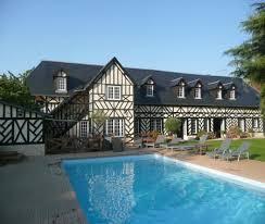 maison d hote deauville manoir de la croix sonnet avec piscine à 4 km du centre de à