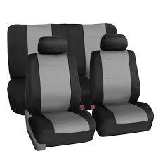 Car Seat Cover Neoprene Waterproof Pet Proof Full Set 2 Headrest ...