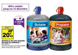 bouteille de gaz auchan propane ou butane 13 kg dealabs