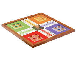 Bulk Wholesale 10 Square Classic Ludo Wooden Board Game Set For Kids Handmade
