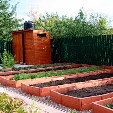 Wooden Raised Vegetable Garden Bed Elevated Grow Vegetable Planter WBlack Liner