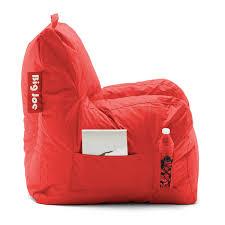 Big Joe Lumin Bean Bag Chair by Amazon Com Big Joe Dorm Chair Flaming Red Kitchen U0026 Dining