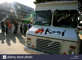 100 Korean Bbq Food Truck Mar 12 2009 Santa Monica California USA A Kogi BBQ