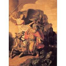 Balaam And The Ass 1626 By Rembrandt Harmenszoon Van Rijn Art Gallery Oil Painting Reproductions