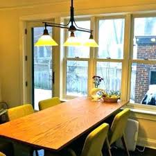 Glass Table Lighting Above Kitchen Pendant Over Overhead Bar Lights Dining Vintage Round