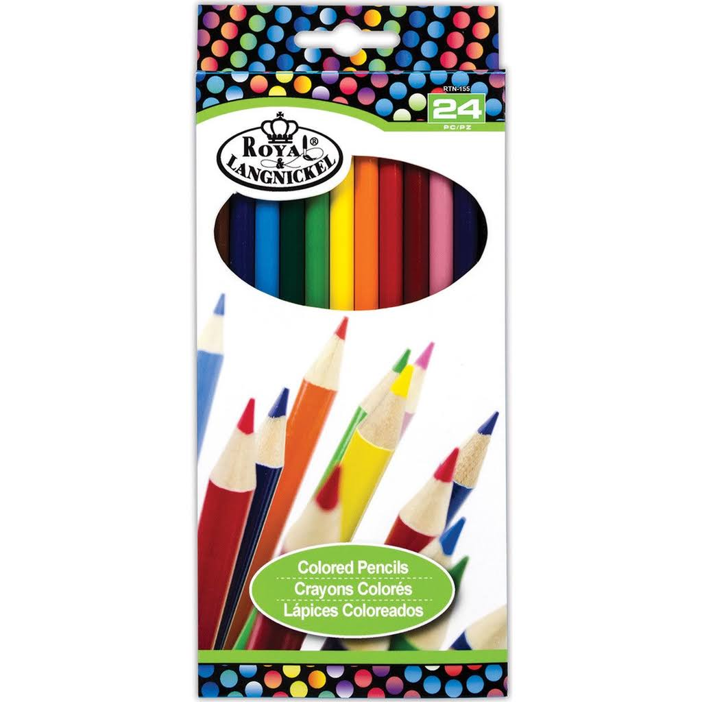 Royal Color Pencil Set - 24 Colors