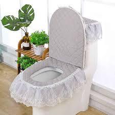 fyjafon 3 stücke wc sitz abdeckung badezimmer dekoration