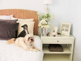 Pottery Barn Dog Bed by Our Pottery Barn Decor Happy Happy Nester