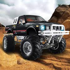 100 Rc Pickup Truck HG P407407A 110 4WD 3CH Rally RC Car Metal 4X4 Racing