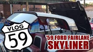 100 59 Ford Truck 19 Fairlane Galaxie Skyliner Retractable Hardtop Working