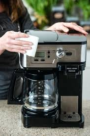 Hamilton Beach Coffee Maker Manual How To Clean Your From Everyday Good Thinking Black 2 Way Brewer 49980z