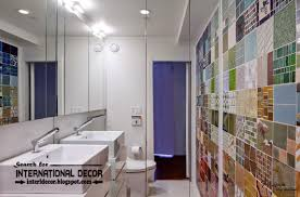Dark Colors For Bathroom Walls by Modern Bathroom Tiles Designs Ideas Patterned Wall Tiles For