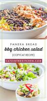 Panera Bread Pumpkin Muffin Calories by Copycat Panera Bread Bbq Chicken Salad Catz In The Kitchen