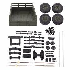 100 4 Wheel Truck Parts Detail Feedback Questions About WPL Trailer RC Car Accessories DIY