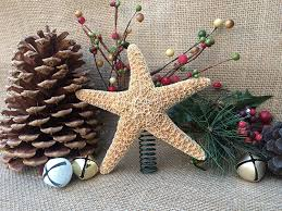 Seashell Christmas Tree Topper by Amazon Com Sugar Starfish Christmas Tree Topper Handmade