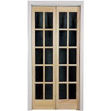 awc traditional divided light glass 36 x 80 5 bifold door