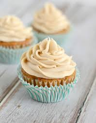 Carrot Cake Cupcakes with Brown Sugar Cream Cheese Frosting 057 1
