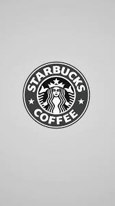 Starbucks Coffee Monochrome Logo IPhone 6 Wallpaper