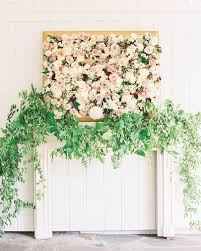 10 Brilliant Flower Wall Wedding Backdrops For 2018 Floral