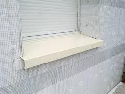 solution isolation thermique extérieur appui de fenêtre composite