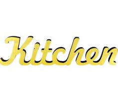 details zu kitchen schriftzug gold deko aufsteller schild küche café restaurant bar schrift