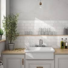 Put Brick Metro Tiles On Your Wall
