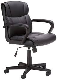 AmazonBasics Mid Back Office Chair (Black): Amazon.in: Home & Kitchen Extra Wide 500 Lbs Capacity Leather Desk Chair W 28w Seat Rh Logic 400 Ergonomic Office From Posturite Melton High Back Mandaue Foam Lr5382 Modliving Mid Ribbed Italian Modernday Designs Milan Direct Ergohuman Plus Elite V2 Mesh Reviews Top 9 Best Brands Of The 2019 Markus Chair Glose Black Ikea Wendell Living Spaces Amazonbasics Black Amazonin Home Kitchen