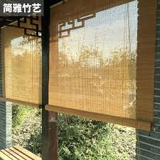 Bamboo Curtains Custom Bamboo Blinds Bamboo Window Blinds Blackout
