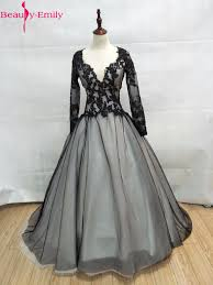popular black lace ball gown dresses buy cheap black lace ball