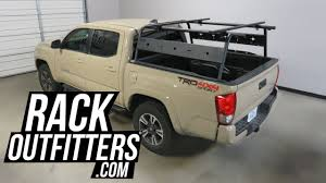 100 Pickup Truck Racks Toyota Tacoma With Wilco OffRoad ADV SL Aluminum Rack YouTube