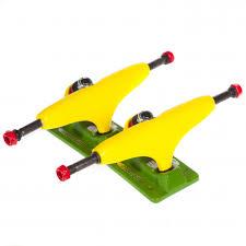 100 Bullet Trucks Sensi 127 YellowGreen Buy Online Fillow Skate Shop