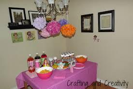 Dora The Explorer Kitchen Set by Crafting And Creativity My Daughter U0027s 2nd Birthday Party Dora Theme