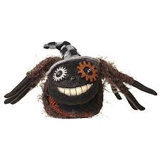 Motion Sensor Halloween Decorations Uk by Spooky Light Up Halloween Spider Decoration 38cm Sounds And