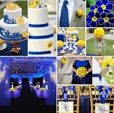 Blue And Yellow Wedding Theme