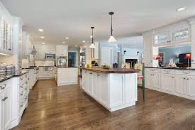 White Kitchen Cabinets With Wood Floors New 35 Beautiful Designs Designing Idea
