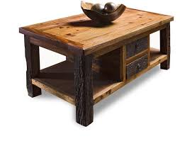 Remarkable Rustic End Tables And Coffee Table Simple Cozy Wood