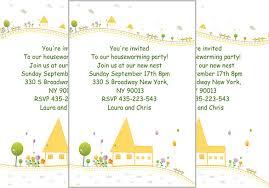 Printable Housewarming Invitation Template