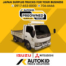 100 Surplus Trucks ISUZU ELF Mini Dump AUTOKID Japan Wing