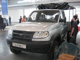 File:UAZ Patriot Truck Front - PSM 2009.jpg - Wikimedia Commons