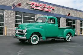 100 Chevy Stepside Truck For Sale 1954 Chevrolet Fast Lane Classic Cars