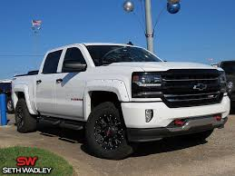 Used 2017 Chevy Silverado 1500 LTZ 4X4 Truck For Sale Ada OK - JT680